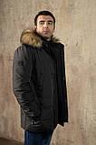 Куртка чоловіча DVMens WINTER-34 ХАКІ 100% поліестер 52(Р), фото 5