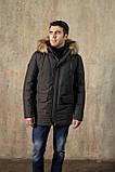 Куртка чоловіча DVMens WINTER-34 ХАКІ 100% поліестер 52(Р), фото 6