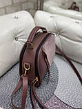 Женская комбинированная сумочка-клатч замш/кожзам, фото 10