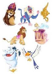 "Вафельна картинка  ""Король Лев"""