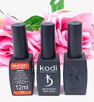 Закрепитель для гель-лака без липкого слоя (топ) Kodi No Sticky Top Coat 12 мл. Kodi Professional