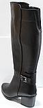 Сапоги зимние женские высокие кожаные от производителя КЛ2143, фото 8