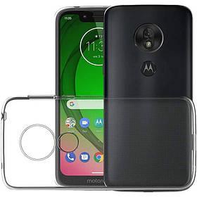 TPU чохол Epic Transparent 1,0mm для Motorola Moto G7 Play
