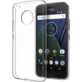 TPU чохол Epic Transparent 1,0mm для Motorola Moto G6 Plus