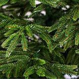 Ель искусственная литая Смерека зелёная 2.5м 250см, фото 2