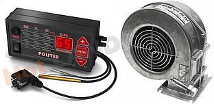 Автоматика POLSTER C-11 + WPA120 ZW вентилятор для котла