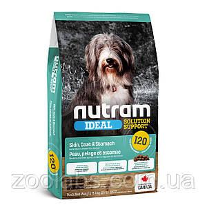 Корм Nutram для собак | Nutram I20 Ideal Solution Support Sensitive Skin, Coat & Stomach Dog 11.4 кг