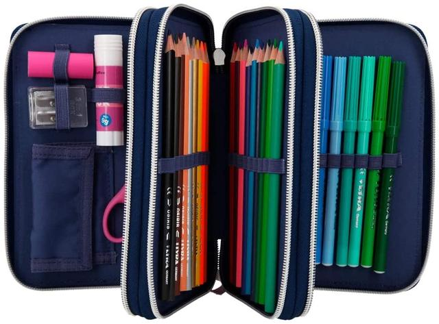 made in GermanyDepesche 10988 3-Compartment Pencil Case Fantasy Model with LED