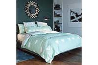 Комплект постельного белья ТЕП «Mint Love Hearts» двуспальный