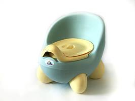 Горщик дитячий Irak Plastik CM-150 блакитний