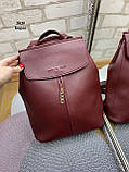 Женский рюкзак кожзам, фото 7