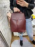 Женский рюкзак кожзам, фото 9