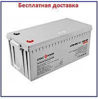 Аккумулятор LPM-MG 12V - 200 Ah мультигелевый, фото 1