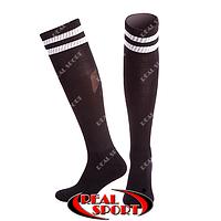 Гетры футбольные черные CO-3256-BK, р. 40-45