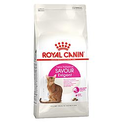 Корм Royal Canin Savour Exigent Роял Канін Ексіджент Савор для котів 10 кг АКЦІЯ