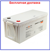 Аккумулятор гелевый LPM-GL 12V - 200 Ah, фото 1