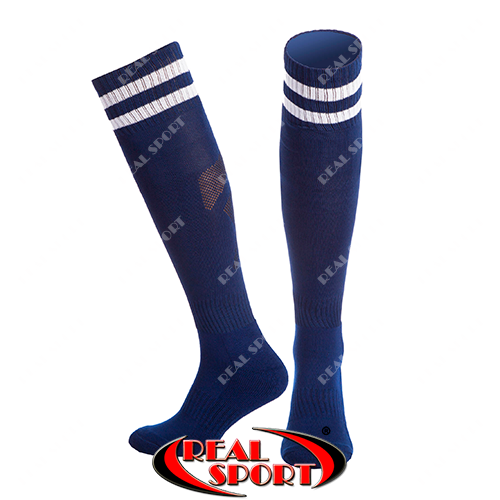 Футбольні гетри темно-сині CO-3256-NV, 40-45 р.