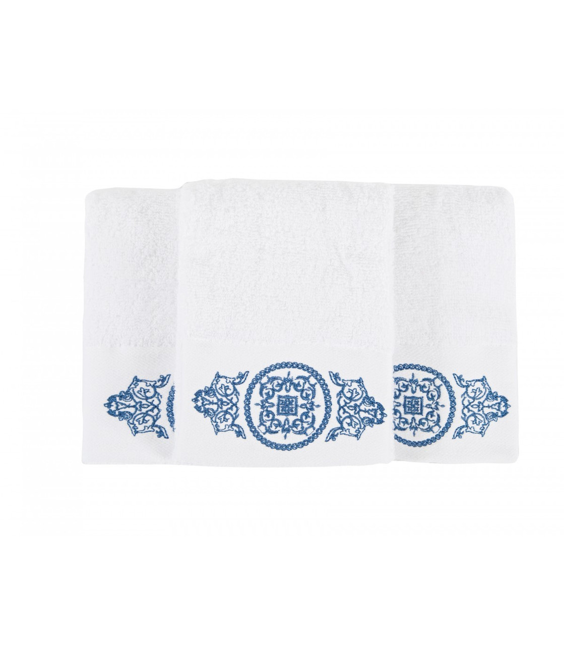 Набор полотенец Irya - Lara white белый 30*50 (3 шт)