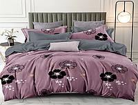 Полуторный комплект постельного белья 150*220 сатин_хлопок 100% (15621), фото 1