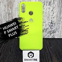 Силиконовый чехол для Huawei P Smart Plus (INE-LX1) Желтый, фото 1