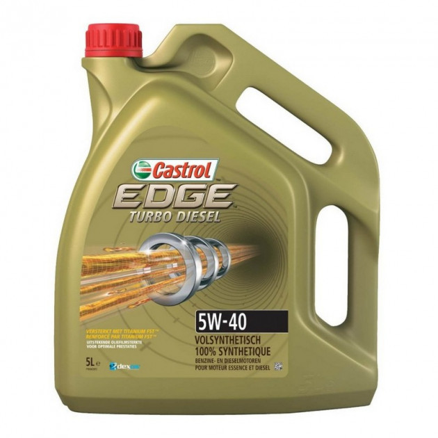 Моторне масло Castrol Edge Turbo Diesel 5W-40 5л