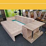 Диван Хілтон зі столиком на коліщатках, фото 5