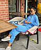 Стильный женский оверсайз спортивный костюм в красивых цветах, фото 2
