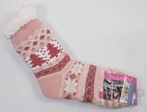 Носки с мехом и силиконом на подошве размер 35-40 2016-8