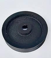 Шкив на вал 25 мм диаметр 200 мм два ручья профиль Б