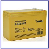 Тяговый аккумулятор Merlion 6-DZM-9 12V 9Ah F2, фото 1