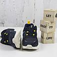 Удобные мягкие женские кроссовки замшевые синие BaaS Повседневные женские кроссовки из замши размер 36 - 41, фото 4