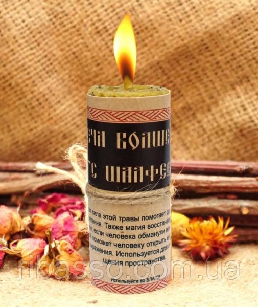 9060289 Волшебная свеча с Шалфеем