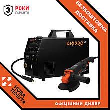 Напівавтомат інверторний IGBT MIG/MMA Dnipro-M SAB-310 + Болгарка Dnipro-M GL-125S
