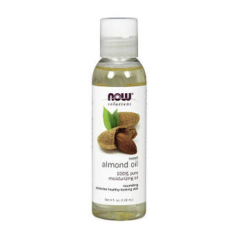 Миндальное масло NOW Almond Oil (118 мл)