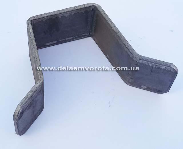 Уловители верхние без покрытия (черный металл) толщина 4 мм. Ширина 50-80мм