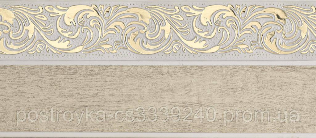 Лента декоративная на карниз, бленда Ажур 4 №04 70 мм на усиленный потолочный карниз КСМ