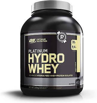 Сывороточный протеин гидролизат Optimum Nutrition Platinum Hydro Whey (1,6 кг) платинум вей ваниль