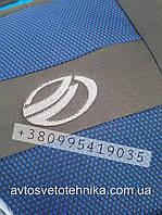 Автомобильные чехлы ЗАЗ Славута COPER Nika СИНИЙ Авточехлы на сидения ZAZ Slavuta синий модельный комплект