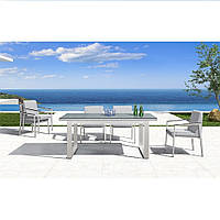 Обеденный комплект Oslo из стола и шести кресел для сада, дома или террасы