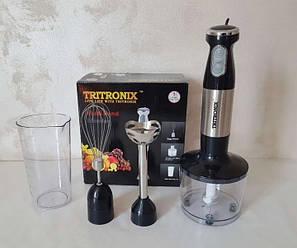 Блендер ручной погружной Tritronix  кухонный многофункциональный, фото 2