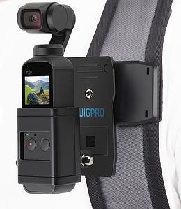 Крепление на рюкзак для DJI Osmo Pocket с защитным чехлом для объектива
