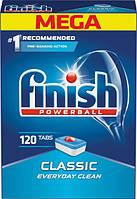 Таблетки для посудомоечных машин класик Finish Tabs Classic 120 шт