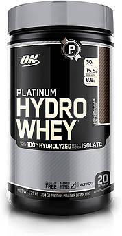 Сывороточный протеин гидролизат Optimum Nutrition Platinum Hydro Whey (795 г)  платинум вей  шоколад