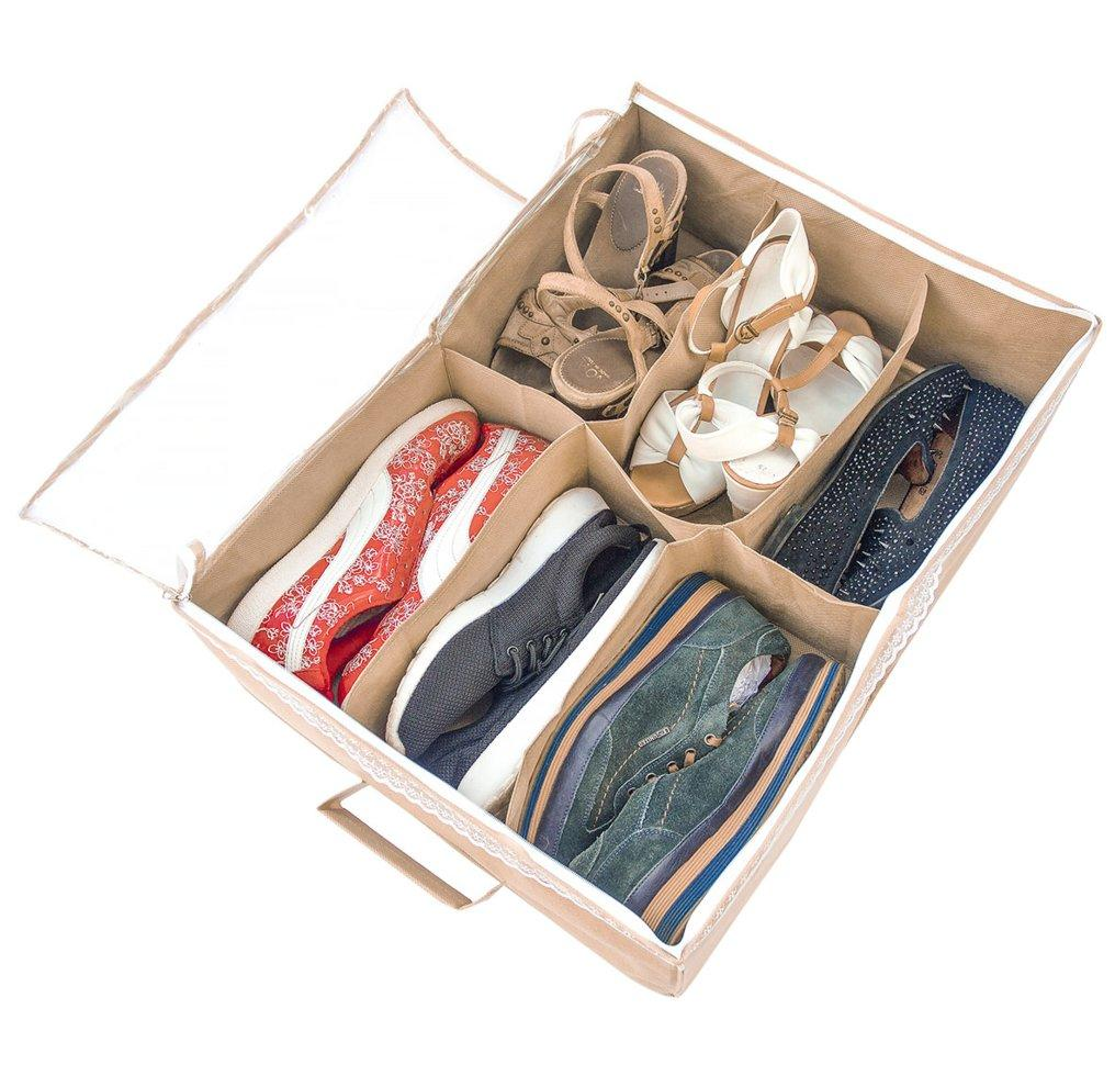 Органайзер для обуви на 6 пар ORGANIZE Beg-O-6 бежевый