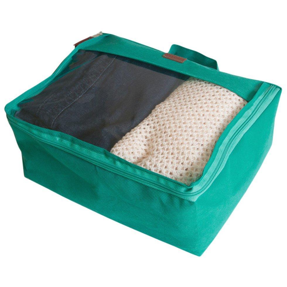Большая дорожная сумка для вещей ORGANIZE P001-azure лазурь