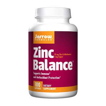Цинк Jarrow Formulas Zinc Balance (100 caps) джарроу формула