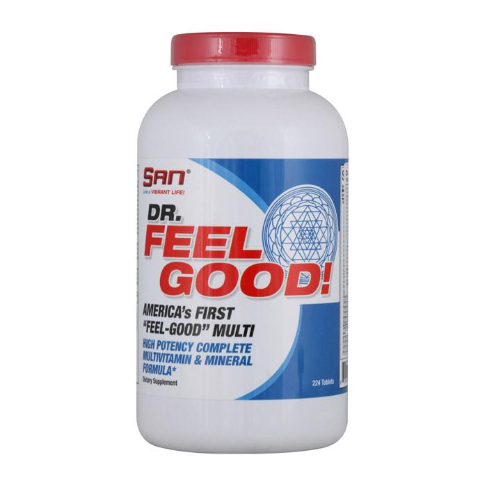 Комплекс витаминов SAN Dr. Feel Good (224 таб) сан фил гуд