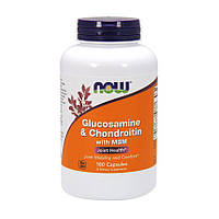 Глюкозамин хондроитин МСМ Now Foods Glucosamine & Chondroitin with MSM (180 капс) нау фудс