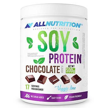 Соевый протеин изолят AllNutrition Soy Protein (500 г) олл нутришн Cholocate