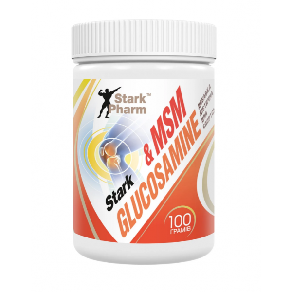 Хондопротектор Stark Pharm Glucosamine MSM (100 г) старк фарм